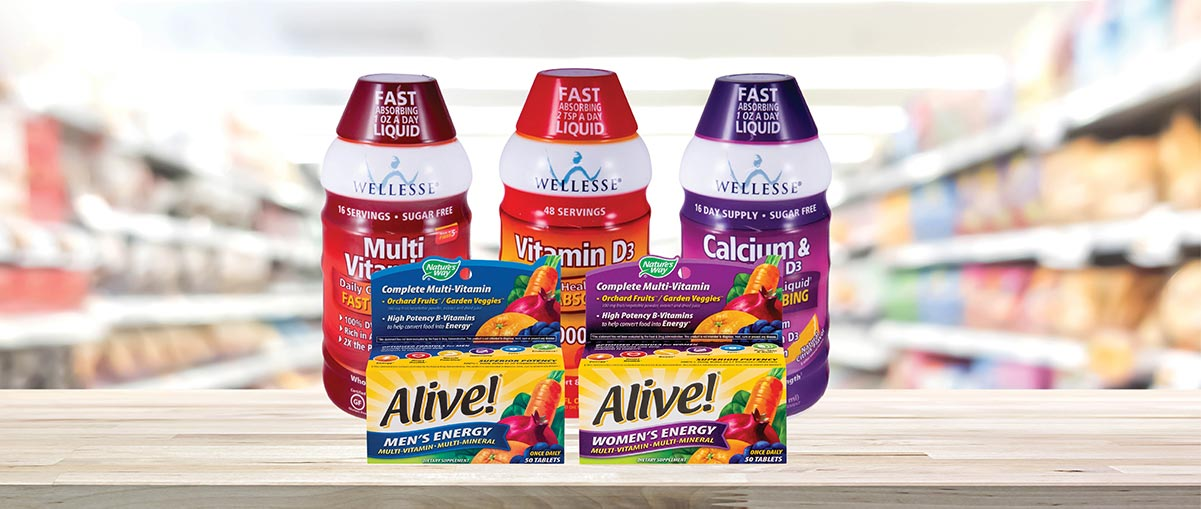 Save 50% on Wellesse & Alive Products!